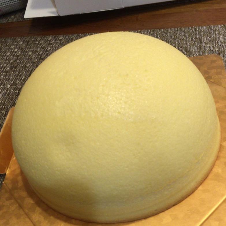 島根県出雲市・吉岡製菓「斐川の少女の夏帽子」ドーム型ふんわりチーズケーキ