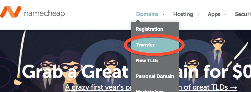ドメインを海外レジストラ「namecheap」に移管する方法(ドメイントランスファー)