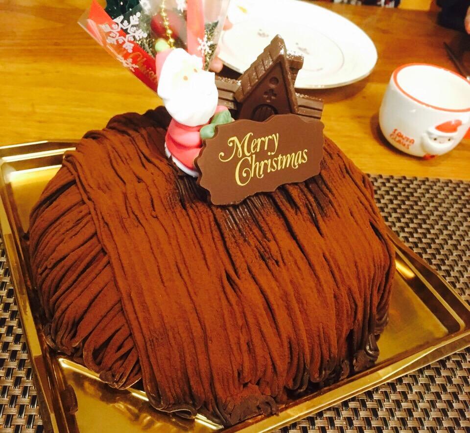 【岡山】クリスマスケーキは人気急上昇中「アンフルール」のチョコモンブラン!