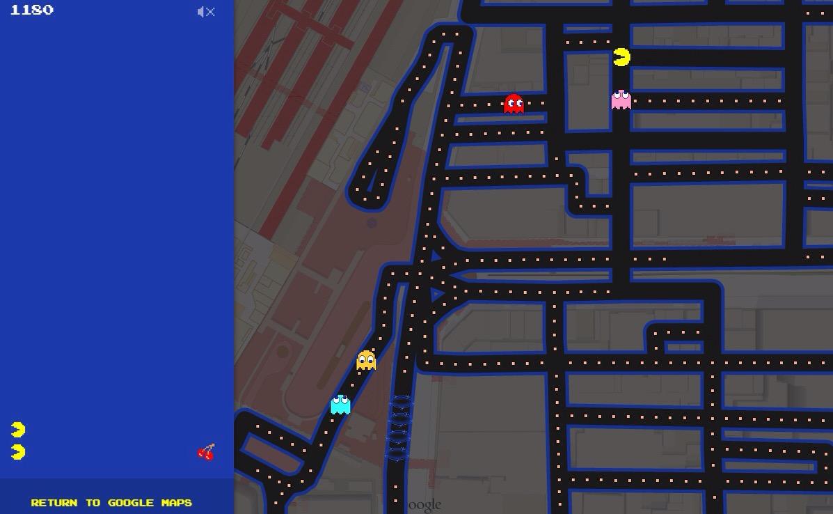 エイプリルフールという言葉がもはや恥ずかしい時代だが、Googleマップのパックマンはすごい
