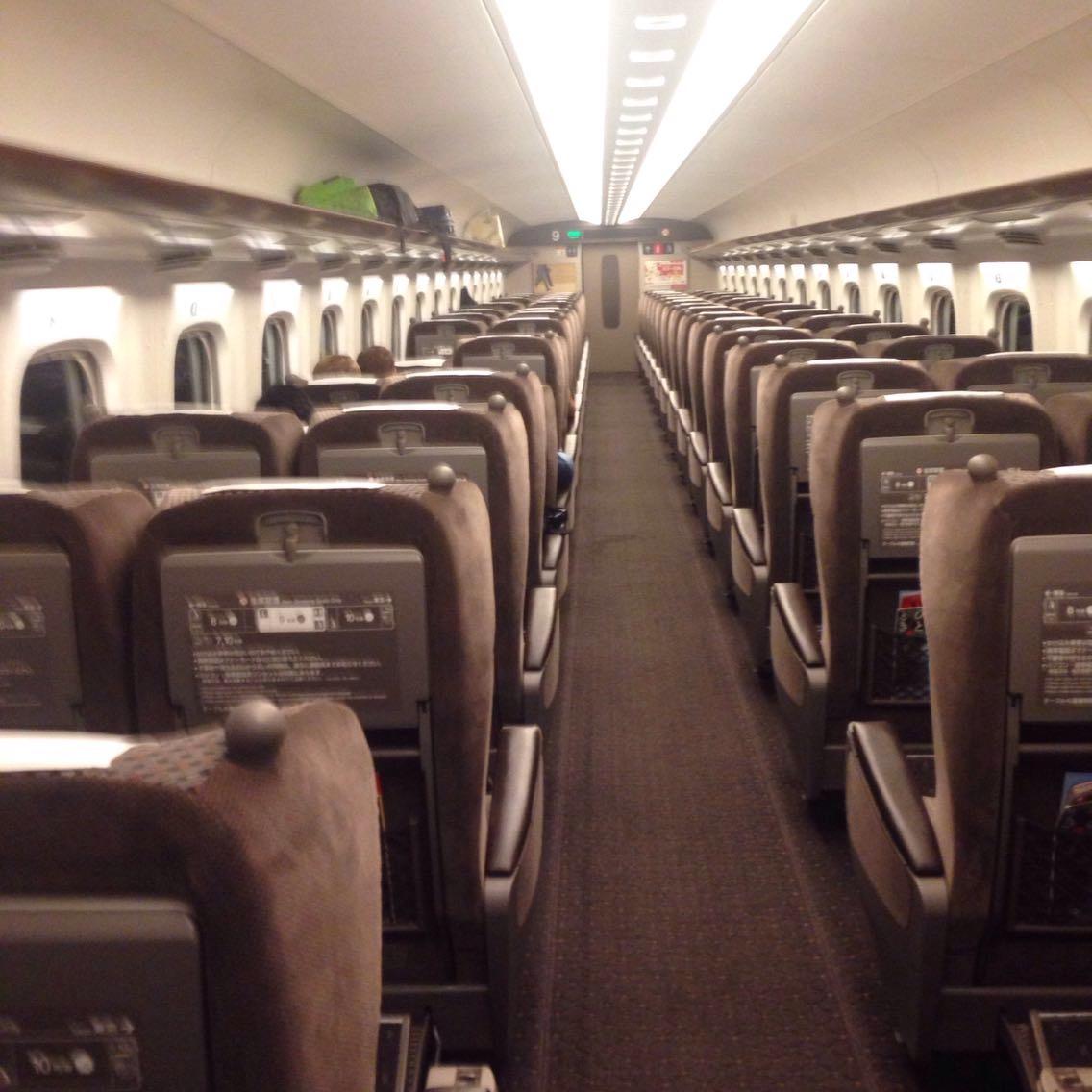 【新幹線】エクスプレス予約の「グリーン特典」ポイントで、人生はじめてのグリーン車に乗車!