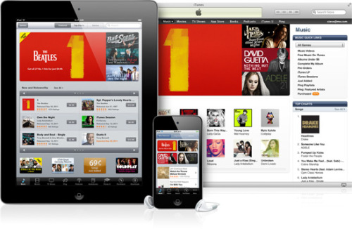 iTunes Storeの普及により、外的要因を問わず音楽が平等に手に入る世の中になった